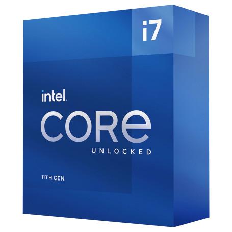 Processeur Intel Core i7 11700K 3.6/5.0Ghz 16Mo 8Core LGA1200 125W