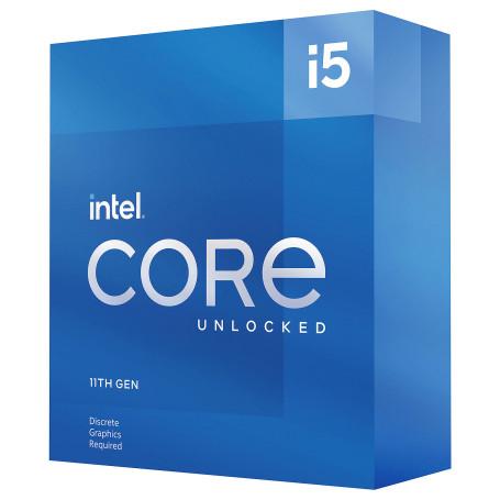 Processeur Intel Core i5 11600K 3.9/4.9Ghz 12Mo 6Core LGA1200 125W