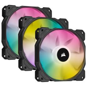 Ventilateur Corsair iCUE SP120 RGB ELITE Triple Pack 120 mm VENCOSP120RGBE-X3 - 2