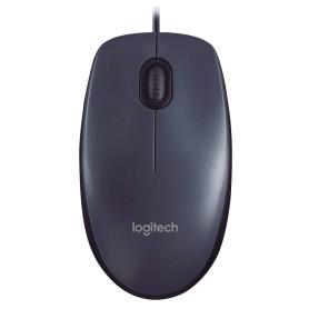 Souris Logitech M100 Noir Optique 1000dpi USB