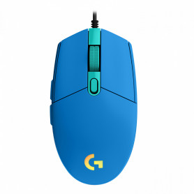 Souris Logitech G203 LightSync Bleu Gaming 8 000dpi