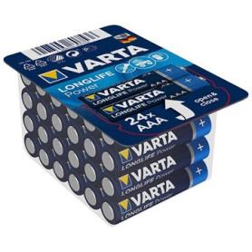 Pack 24 Piles VARTA Pile alcaline LONGLIFE Power AAA (LR03) 1.5V PILEAAA_8496807536 - 1