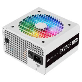 Alimentation Corsair CX750F RGB Blanc 750 Watts 80Plus Bronze Mod