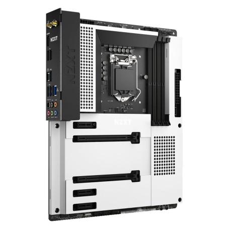 Carte Mère NZXT N7 Z490 WHITE ATX LGA1200 DDR4 USB3.2 M.2 Wifi AX