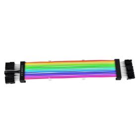 Rallonge Lian Li Strimer Plus Triple 8-Pin RGB 3 x PCI-E 8 Broches ALIMLLSTRIMER+8PX3 - 2