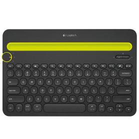 Clavier Logitech Wireless Keyboard K480 Multi-Device Bluetooth CLLOK480 - 2