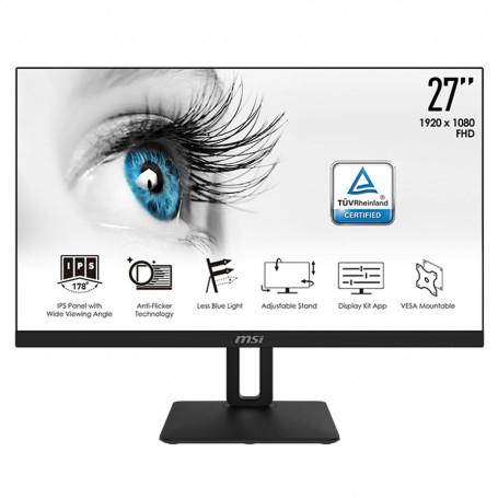 """Ecran MSI 27"""" PRO MP271P 1920x1080 75Hz 5ms VGA HDMI PIVOT EC27MSMP271PPRO - 2"""