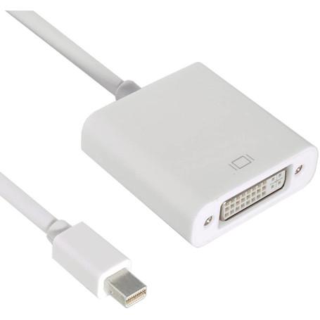 Adaptateur Mini DisplayPort 1.2 Male vers DVI 24+1 Femelle
