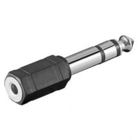 Adaptateur Jack 6.3mm Male vers Jack 3.5mm Femelle ADJACK6.3M/3.5F - 1