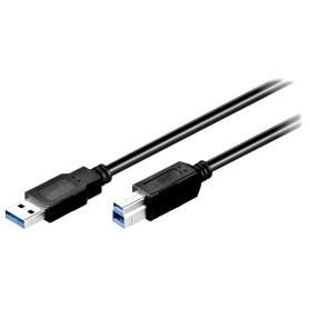 Cable USB 3.0 A vers B 1m CAUSB3_A/B_1M - 1