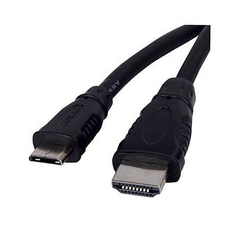 Cable HDMI M/M A vers C mini HDMI 2m
