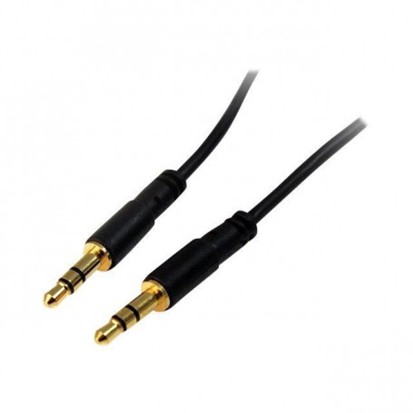 Cable Audio Jack 3.5mm Male/Male 1m