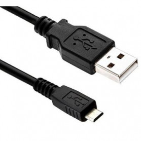 Cable USB 2.0 A vers B micro 1m