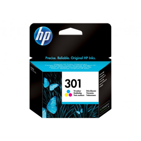 Cartouche HP 301 Couleur CH562EE 165 pages