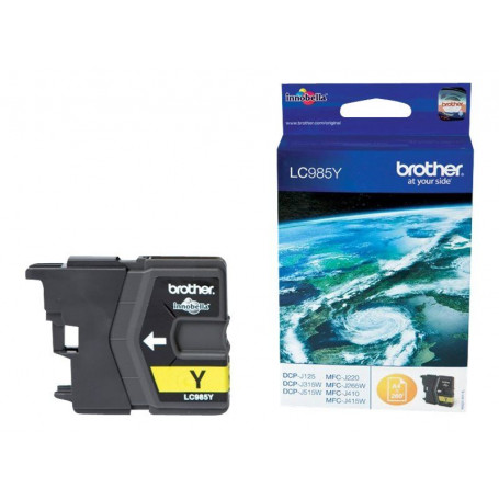 Cartouche Brother LC985Y Yellow