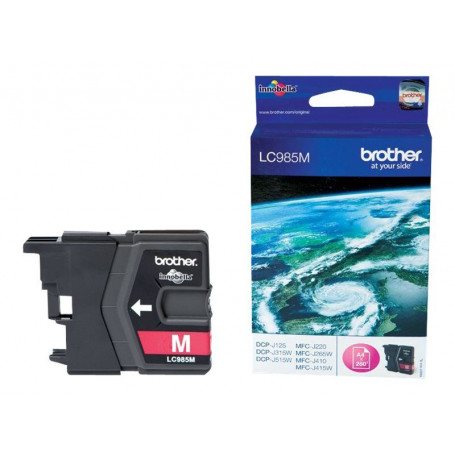 Cartouche Brother LC985M Magenta