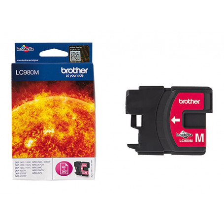 Cartouche Brother LC980M Magenta