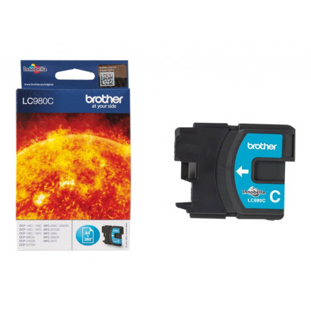 Cartouche Brother LC980C Cyan