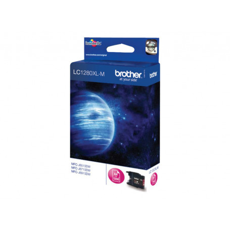 Cartouche Brother LC-1280XL Magenta 1200 pages