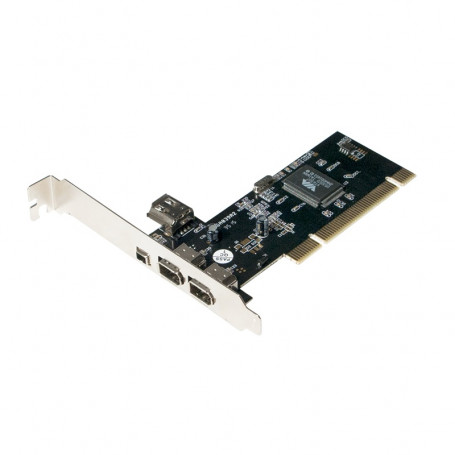 Carte PCI LogiLink PC0006A 1394a 3 Ports + 1 Port Interne
