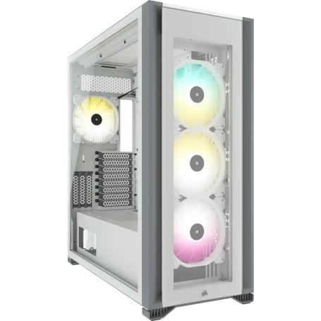 Boitier Corsair iCUE 7000X RGB Tempered Blanc E-ATX USB 3.1 Type C BTCO7000X-RGB-WH - 2