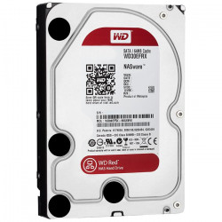 Disque Dur SATA 6Gb/s 6To IntelliPower 64Mo WD RED WD60EFRX NAS