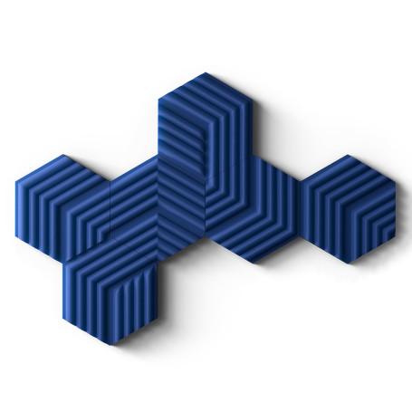 Mousse Acoustique Elgato Wave Panels Starter Set Bleu STELWAPA-SS-BLUE - 1