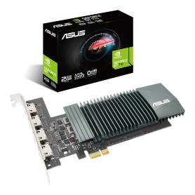 Carte Graphique Asus Geforce GT710 2Go SL 4 ports Hdmi CVAS-GT7104HSL2GD5 - 1