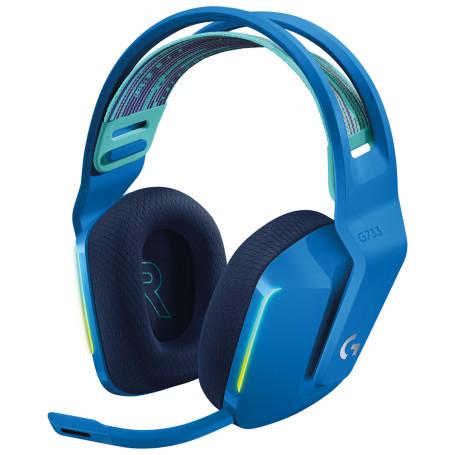 Micro Casque Logitech G733 Lightspeed Gaming Bleu MICLOG733-BLEU - 2