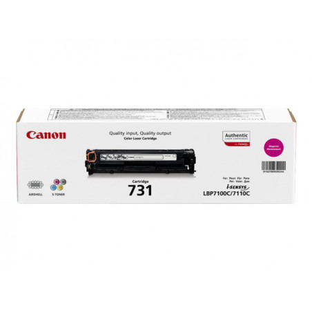 Toner Canon 731 Magenta 1500 pages 6680/8230/8280/7100/7110
