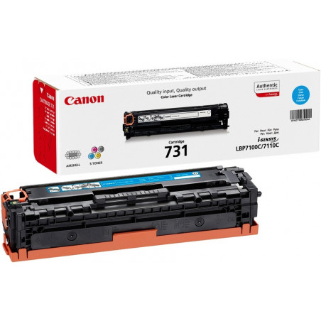 Toner Canon 731 Cyan 1500 pages 6680/8230/8280/7100/7110