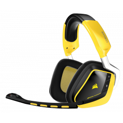 Micro Casque Corsair VOID Dobly 7.1 Sans Fil Wireless Gaming Jaune ES
