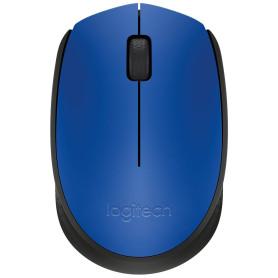 Souris Logitech Wireless Mouse M171 Bleu USB unifying