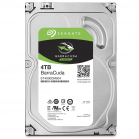 Disque Dur SATA 6Gb/s 4To 5400trs 256Mo Seagate ST4000DM004