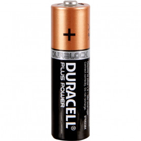 Pack 12+4 Piles DURACELL PLUS POWER AA (LR6) 1.5V