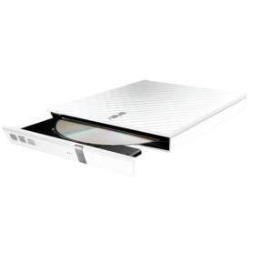 Graveur Externe Asus Slim CD/DVD 24x/8x SDRW-08D2S-U-LITE/W Blanc