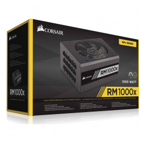 Alimentation Corsair RM1000X 1000 Watts 80Plus Gold Modulaire