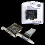 Carte PCI Express LogiLink PC0033 2 x DB9 Série + 1 x DB25 Parallèle