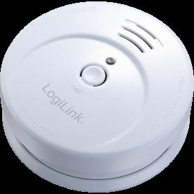 Détecteur de Fumée Logilink SC0001A 85dB pile 9 Volts inclus