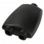 Adaptateur Audio Optique LogiLink Toslink Femelle vers 2x Femelle CAOP_LL_CA1013 - 1