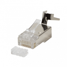 10x connecteur RJ45 C6/6A/7/7A Blindé LogiLink MP0030