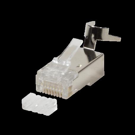 10x connecteur RJ45 C6/6A/7/7A Blindé LogiLink MP0030