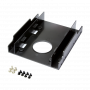 Adaptateur LogiLink AD0010 pour Disque Dur Baie 3.5 vers 2 x 2.5 AD3.5/2.5LL-AD0010 - 1