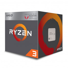 Processeur AMD RYZEN 3 2200G 3.5Ghz 4M 4Core 65W AM4