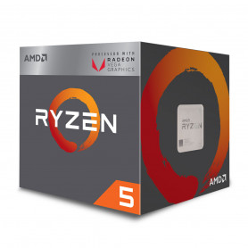 Processeur AMD RYZEN 5 2400G 3.6Ghz 6M 4Core 65W AM4