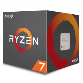Processeur AMD RYZEN 7 2700X 3.7Ghz 20M 8Core 95W AM4
