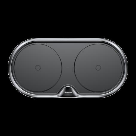 Chargeur Induction Baseus Dual Phone Quick Charge Noir