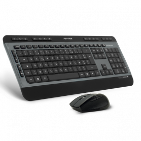 Clavier Souris Advance CLS-8900RF Multimedia Deluxe Wireless Desktop