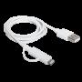 Câble Campus CB-IP5MU Dual Smart micro USB + Apple Lightning