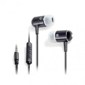 Ecouteurs Intra-Auriculaires Campus Rythmic MIC-IP709BK Noir
